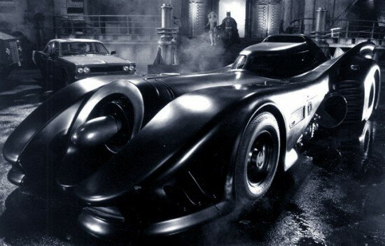 Batman & Batman Returns Batmobile