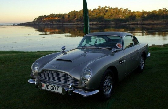 James Bond Aston DB5