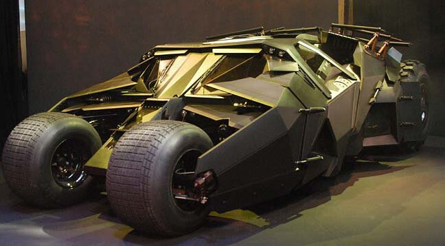 Tumbler Batmobile Car